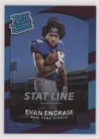 Rated Rookies - Evan Engram #/65