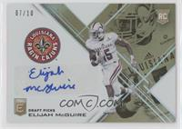 Draft Picks - Elijah McGuire /10