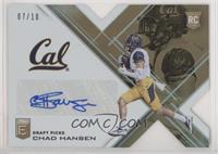 Draft Picks - Chad Hansen #/10