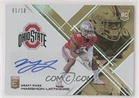 Draft Picks - Marshon Lattimore #/10