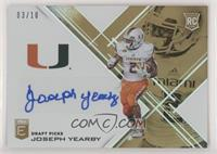 Draft Picks - Joseph Yearby #/10