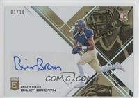 Draft Picks - Billy Brown /10
