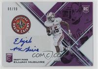 Draft Picks - Elijah McGuire /99