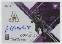 Draft Picks - Marcus Cox /99