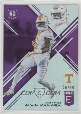 2017 Panini Elite Draft Picks - [Base] - Aspirations Purple #156 - Draft Picks - Alvin Kamara /99