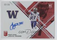 Draft Picks - John Ross #/35