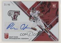 Draft Picks - Phazahn Odom #/49