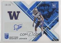 Draft Picks - Sidney Jones #16/25