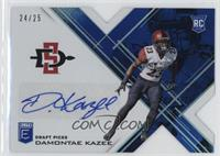 Draft Picks - Damontae Kazee /25