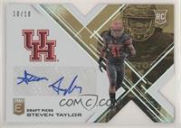 Draft Picks - Steven Taylor #/10