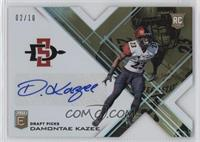 Draft Picks - Damontae Kazee /10