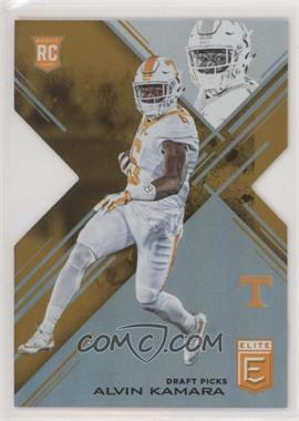 2017 Panini Elite Draft Picks - [Base] - Status Orange Die-Cut #156 - Draft Picks - Alvin Kamara