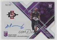 Draft Picks - Donnel Pumphrey [Noted] #/99