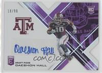Draft Picks - Daeshon Hall #/99