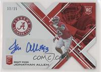 Draft Picks - Jonathan Allen #/35