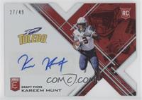Draft Picks - Kareem Hunt /49