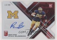 Draft Picks - Ryan Glasgow #/49
