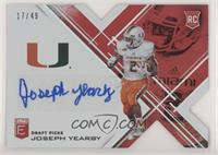 Draft Picks - Joseph Yearby #/49