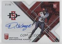 Draft Picks - Damontae Kazee /49