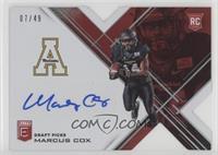 Draft Picks - Marcus Cox /49