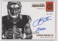 John Ross III #/49