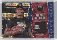 Wayne Gallman #/25