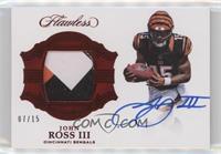 John Ross III #/15