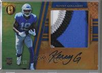 Rookie Jersey Autographs Jumbo Prime - Kenny Golladay [Noted] #/25