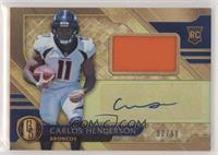Rookie Jersey Autographs - Carlos Henderson /99 [EX to NM]