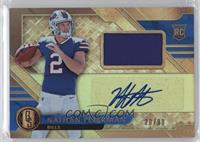Rookie Jersey Autographs - Nathan Peterman #/99