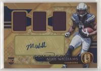 Rookie Jersey Autographs Triple - Mike Williams #/49