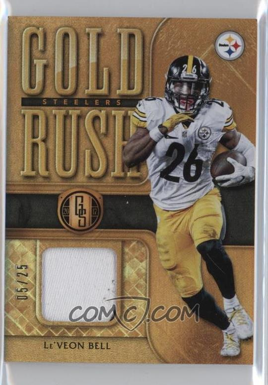 factory authentic f5b54 bd0b3 2017 Panini Gold Standard - Gold Rush Relics - Prime #19 ...