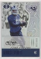 Rookie Signs - Gerald Everett [Good to VG‑EX] #/100