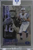 Andrew Luck, Peyton Manning /100 [Uncirculated]