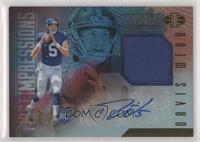 First Impressions Memorabilia Autographs - Davis Webb [EX to NM]