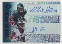 Mack Hollins, Shelton Gibson /20