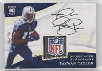 Rookie Patch Autographs Tag - Taywan Taylor #/1