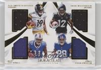 Dede Westbrook, Evan Engram, JuJu Smith-Schuster, Zay Jones /25