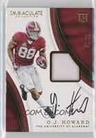 Signature Rookie Patches - O.J. Howard #/99