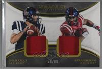Chad Kelly, Evan Engram /99