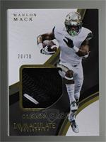 Marlon Mack /20