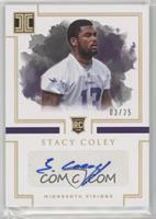 Rookie Autographs - Stacy Coley #/25
