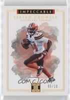 Isaiah Crowell /10