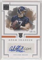 Rookie Autographs - Adam Shaheen /75