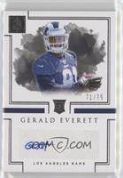 Rookie Autographs - Gerald Everett /75