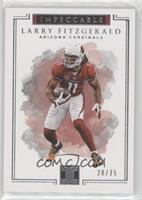 Larry Fitzgerald /75