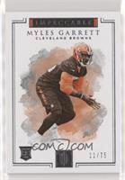 Myles Garrett #/75