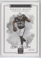 Khalil Mack /75