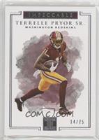 Terrelle Pryor Sr. /75