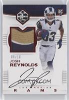 Rookie Patch Autographs - Josh Reynolds #/10